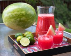 Sparkling Watermelon Limeade