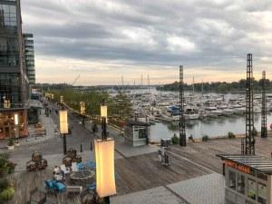 District Wharf view