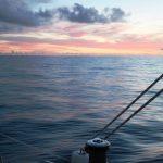 Gulf Stream sunset