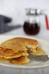 Sunday Morning Sourdough Pancakes