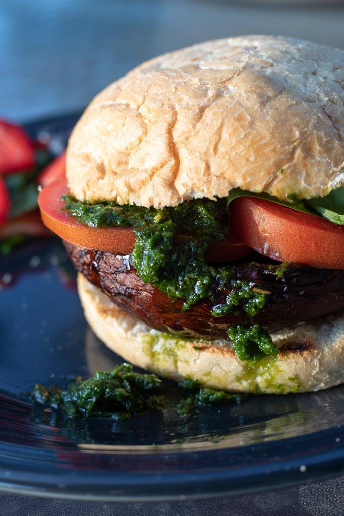 Grilled Portobello Burger