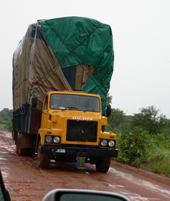 Ghanaian truck