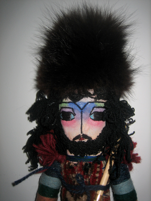 Armenian carpet doll