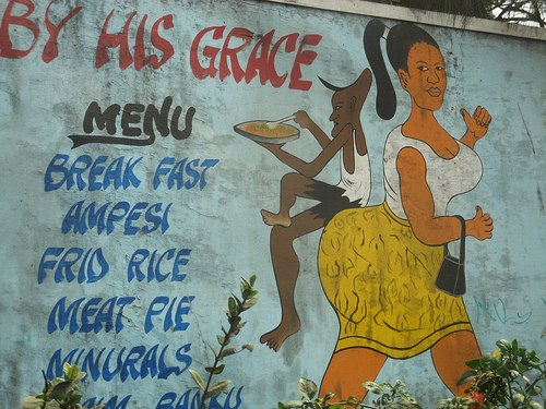Ghanaian restaurant