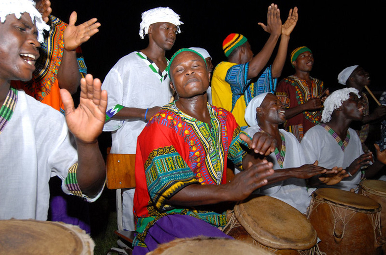 Ghanain drums