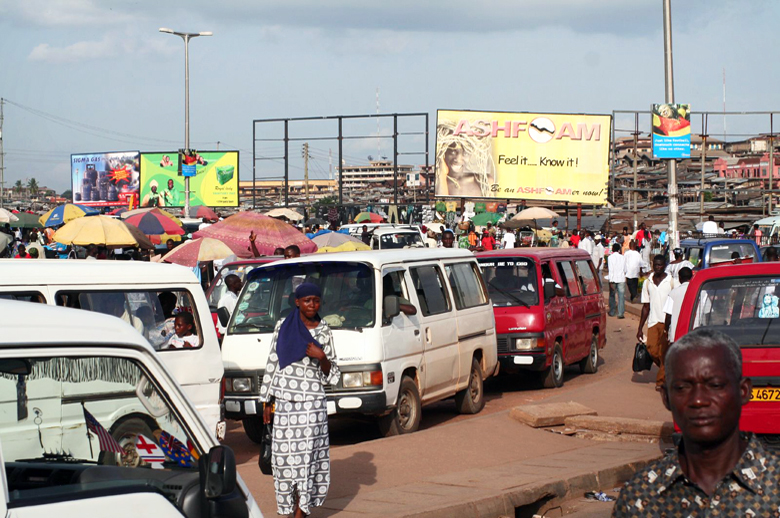 Traffic in Ghana