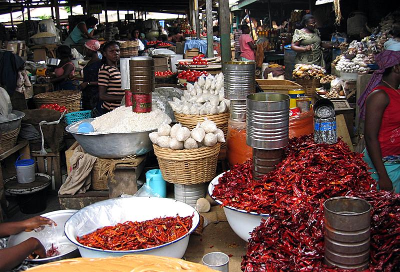 Ghana Accra Makola Market