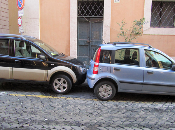 car parking in Rome