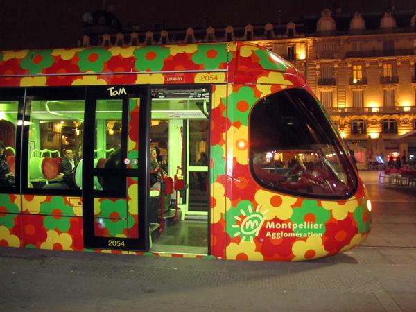 Monstpellier tram