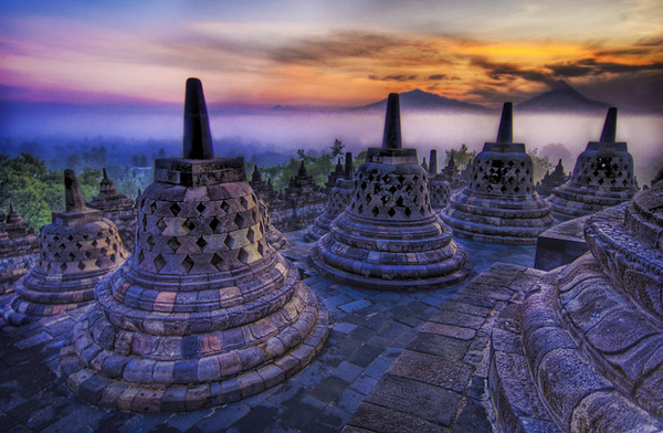 Java temples