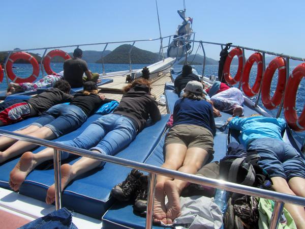 Turkey boat trip