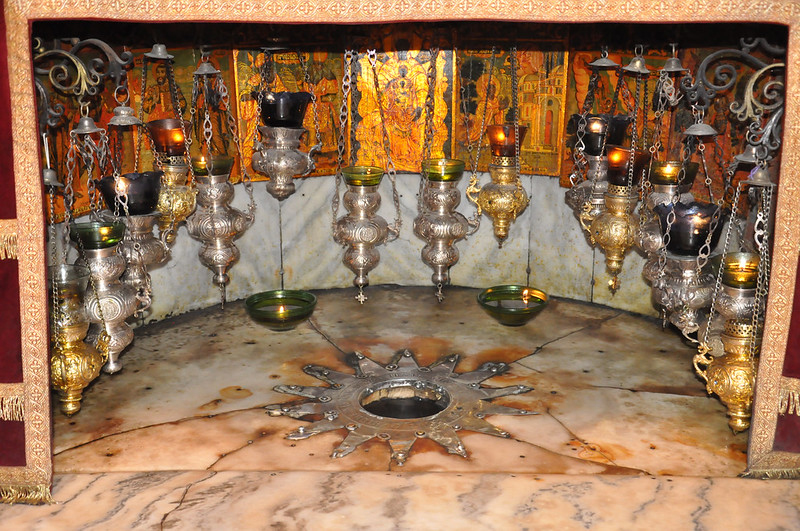 Church of the Nativity Grotto in Bethlehem