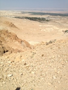 We're not meant to journey alone (Qumran, Israel).