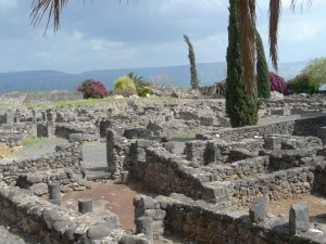 Homes in Capernaum.