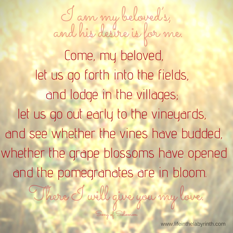 Solomon about of love verses song Song of