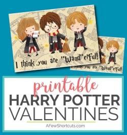 Fun & Free Printable Valentine's Cards at LifeInTheNerddom.com