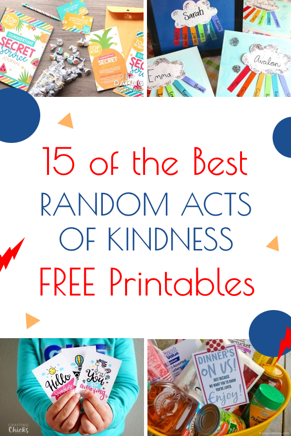 Random Acts of Kindness Every Day at LifeInTheNerddom.com