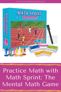 Practice Math with Math Sprint: The Mental Math Game at LifeInTheNerddom.com