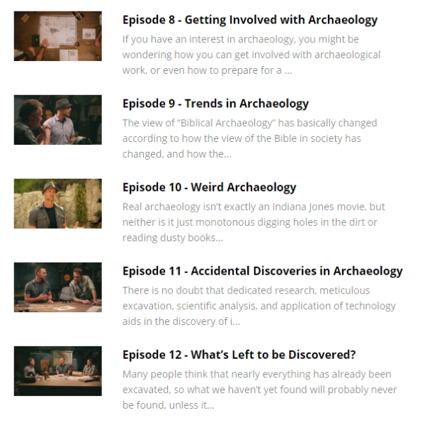 Discover Biblical Archaeology with Bible Unearthed at LifeInTheNerddom.com