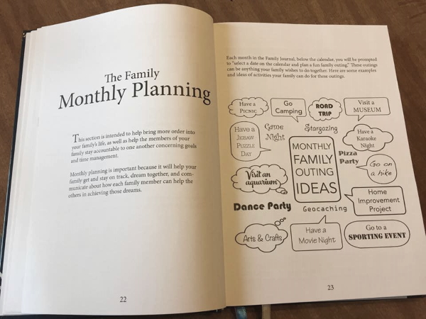 Family Time Made Easy with The Family Journal @ LifeInTheNerddom.com