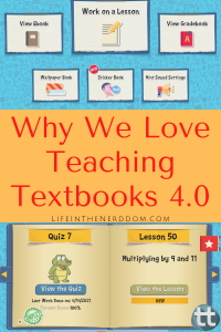 Why We Love Teaching Textbooks 4.0 @ LifeInTheNerddom.com