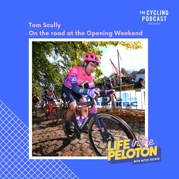 Tom Scully – On the road at the Opening Weekend in Belgium