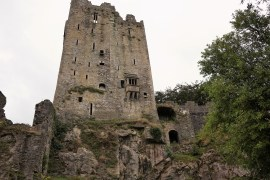 Visiting the Blarney Castle and Blarney Stone in County Cork, Ireland