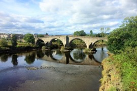 The William Wallace bridge in Stirling | Exploring Dunkeld and Stirling, the gateway to the Higlands
