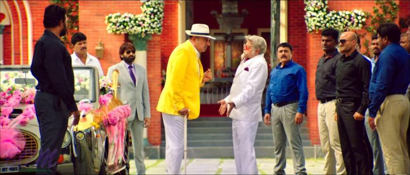 Boman Irani and the superb Sanjay Mishra