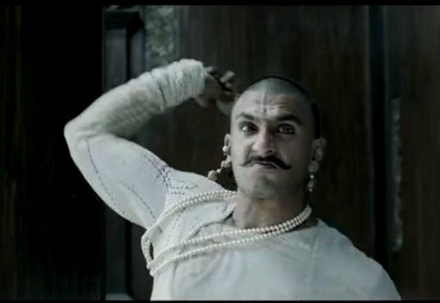 Ranveer Singh - a ferocious warrior act