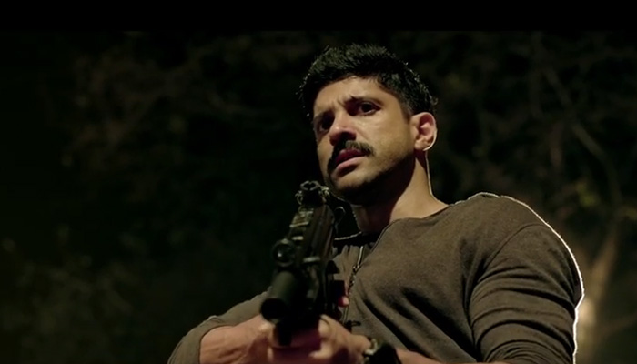 Farhan Akhtar - bursting with kinetic energy