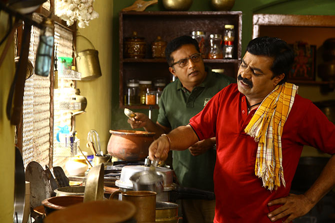 Prakash Raj, Achyuth Kumar - what's life without a cook
