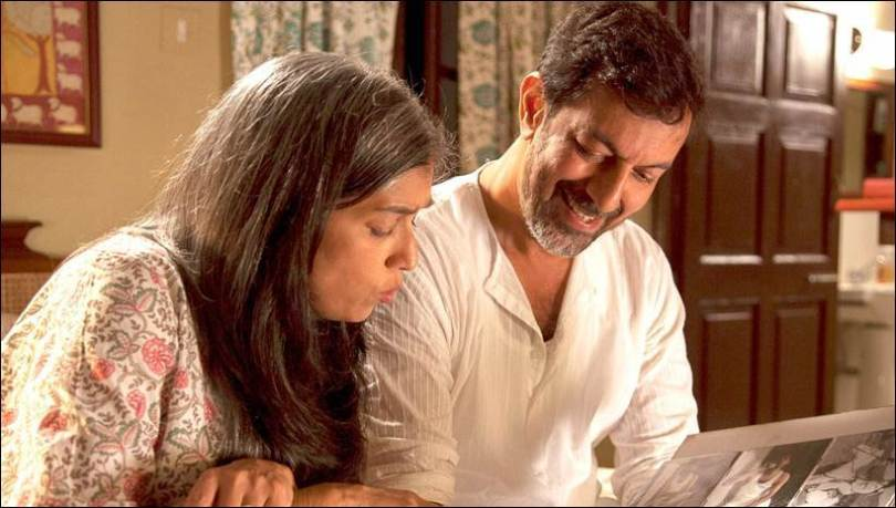 Ratna Pathak and Rajat Kapoor