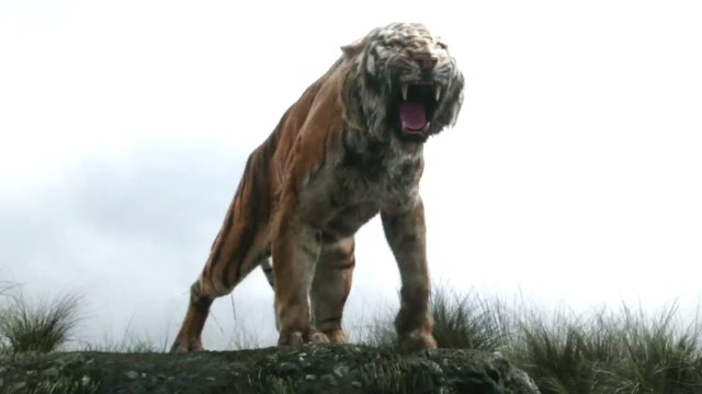 Shere Khan - when he roars, he thunders