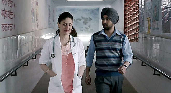 Kareena Kapoor Khan, Diljit Dosanjh - love and drugs