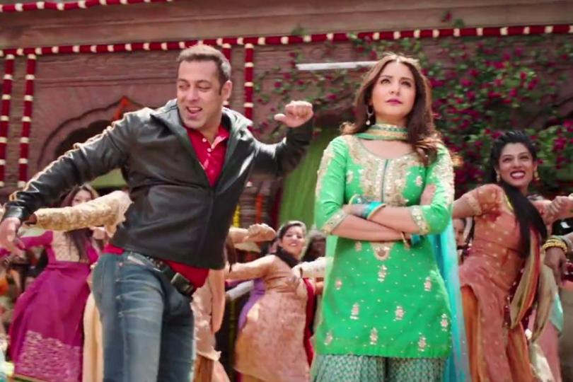 Salman Khan, Anushka Sharma - back to bass-ics