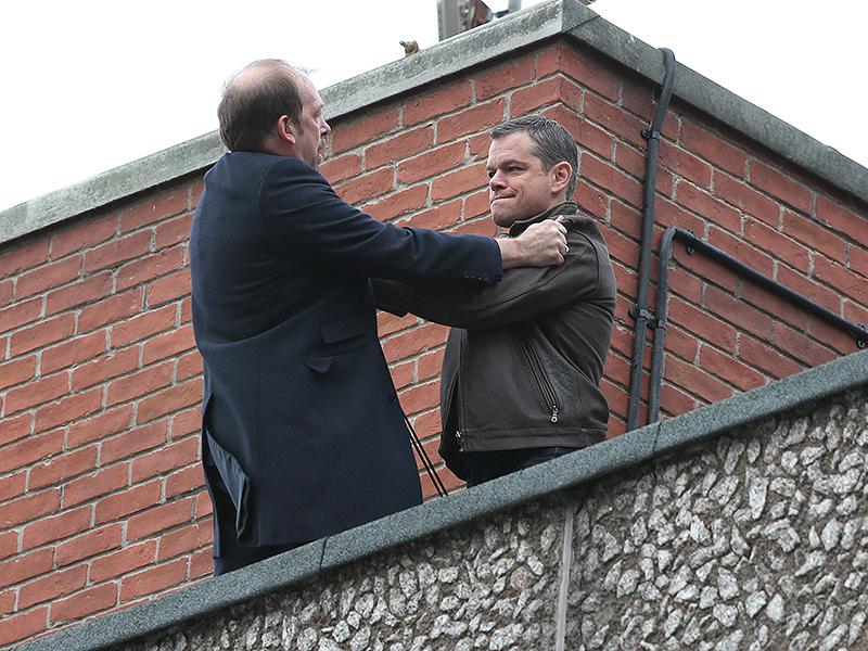 Bill Camp, Matt Damon -  going through the roof