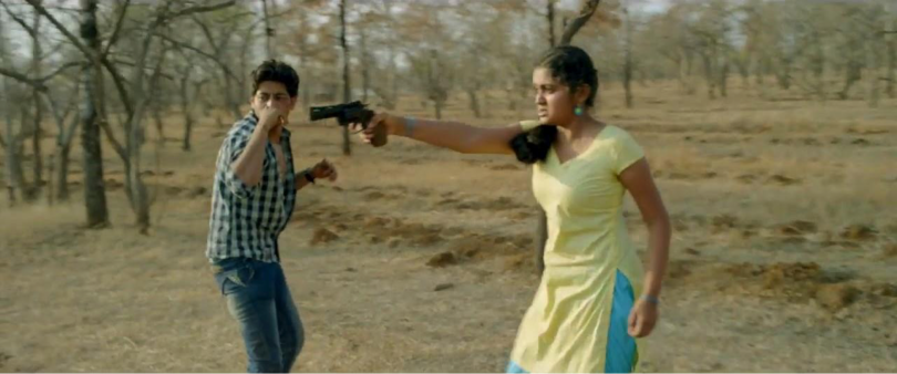 akash-thosar-rinku-rajguru-cupid-with-a-gun