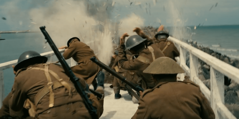 You live through the terror in director Christopher Nolan's 'Dunkirk'.