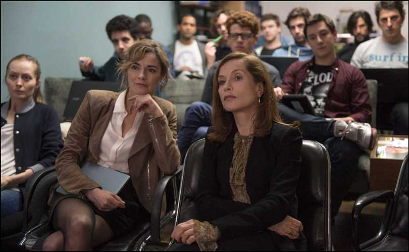 Anne Consigny, Isabelle Huppert - office games