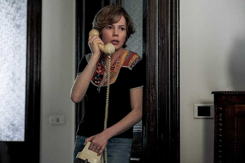Michelle Williams receives the much dreaded call, and no its not from her maid