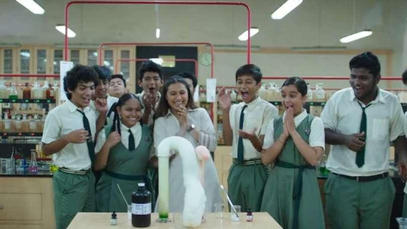 Rani Mukerji shows that science can be fun