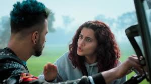 Vicky Kaushal and Tapsee Pannu are highway stars.