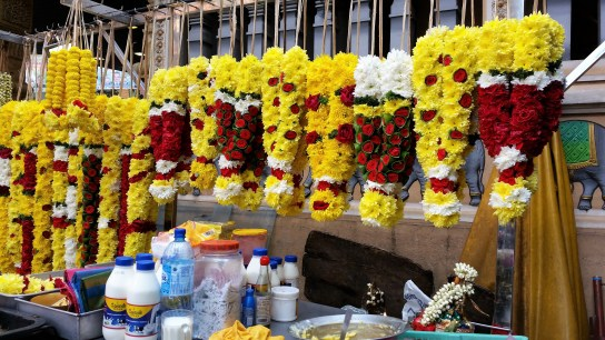 Blumendeko Inder