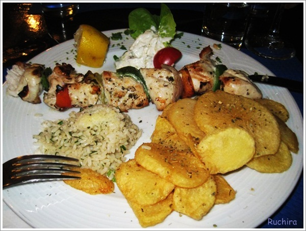 Greece-Chicken Souvlaki