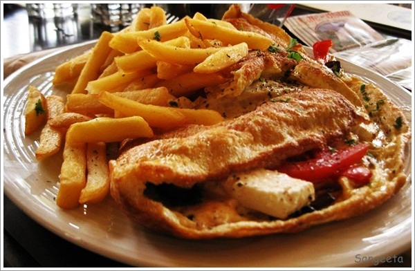 Greece-Omelette