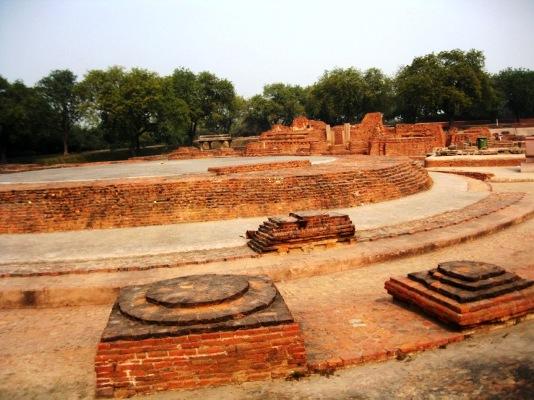 Sarnath-Dharmarajka Stupa