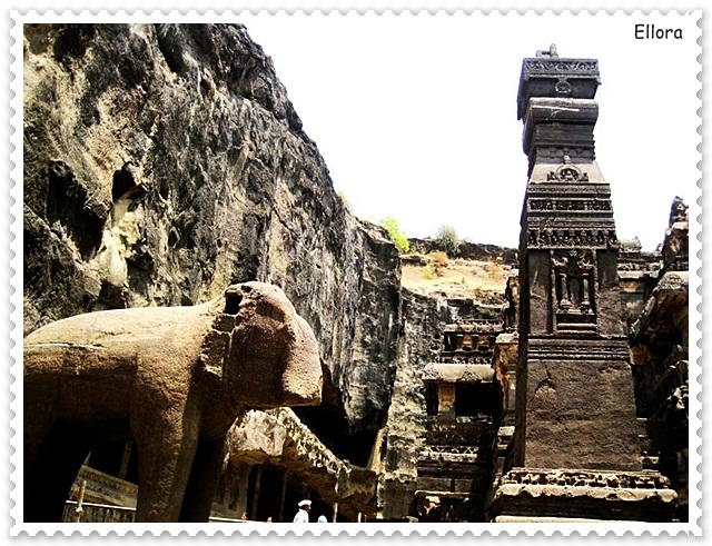 Enchanting Sculptures of Ellora Caves in India