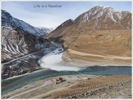 Nimu-Confluence of Indus and Zanskar