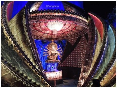 Durga Puja 95 Pally 2014